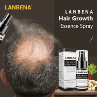 LANBENA Hair Growth Essence Spray Anti Stop Hair Loss Quick Hair Loss Prevention Products Fast Powerful Regrowth Hair Care