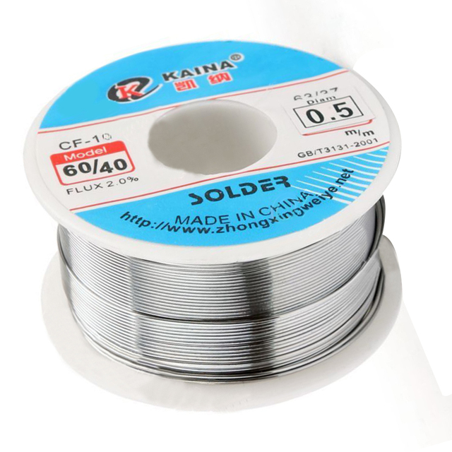 New Solder Sn 60/Pb 40 Rosin Core Tin Lead Solder Wire Soldering ...