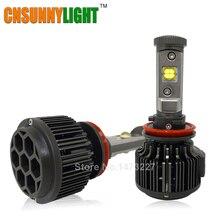 H11 LED con chips Cree 30 W 3600LM Luz Principal Del Coche Niebla DRL de La Linterna Lámpara de Luz Diurna Runnning Sustituir H8 H9 Xenón Colores bombilla
