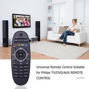 Image 2 - ユニバーサルリモコン適切なフィリップス対応のテレビ/dvd/auxリモートコントロールワイヤレスリモコンポータブルリモコン