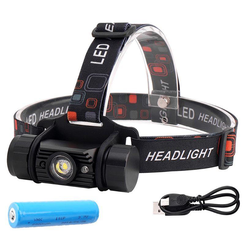 5W Mini IR Sensor Headlamp LED Induction Flashlight Outdoor Waterproof Head Torch