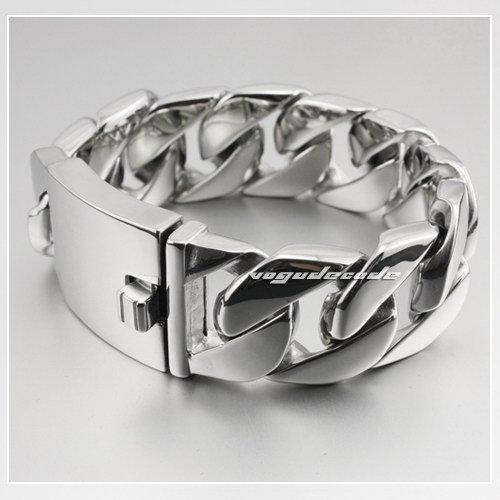925 пробы Серебряный 7 мм круглый крутой браслет для мужчин винтажный панк рок Тайский ручной работы мужские ювелирные изделия - 3