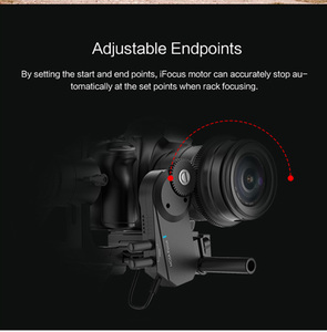 Image 5 - MOZA iFocus Wireless Follow Focus Motor for Moza Air 2, Air, or AirCross DSLR Gimbal Stabilizer Follow Focus Accessories instock