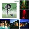 12 Star Patterns Shower Christmas Laser lights Landscape Outdoor Red Green Laser Light Waterproof Xmas Tree Garden decorative