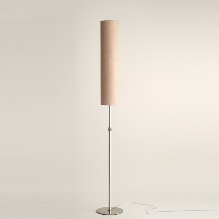 Chinese style cloth floor lamps for living room bedroom study decorations creative LED vertical floor lights lighting chinese cloth floor lamps modern living room bedroom bedside lamp study hotel white decorations lighting floor lights za