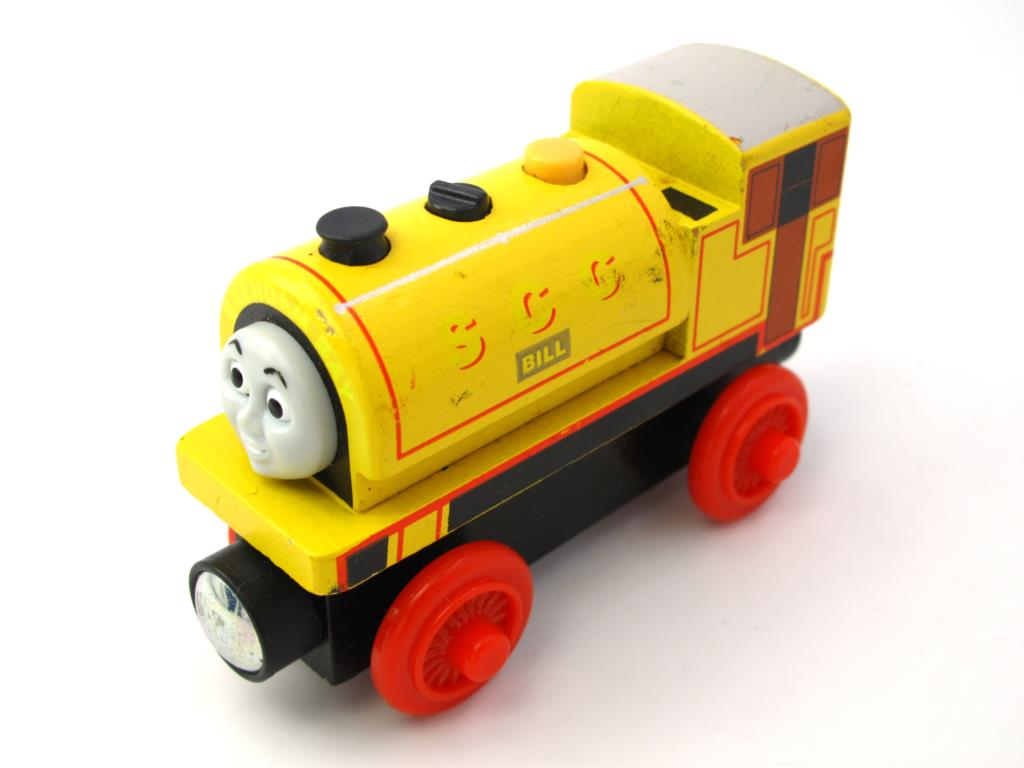 Wooden Thomas Train T014W BILL Thomas And Friends Trackmaster Magnetic Tomas Truck Car Locomotive Engine Railway Toys for Boys