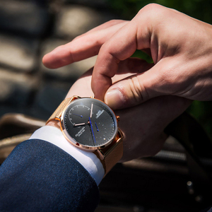 Image 5 - GUANQIN montre bracelet créative à Quartz pour hommes, marque de luxe, lumineuse, entièrement en acier, 2019
