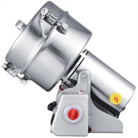 free ship 2000g Swing high speed grinder,automatic flour mill powder machine,coconut cocoa pepperpowder making machine