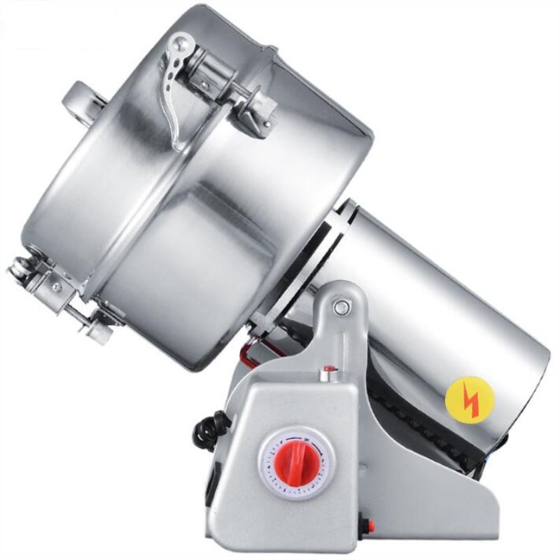 free ship 2000g Swing high-speed grinder,automatic flour mill powder machine,coconut cocoa pepperpowder making machine