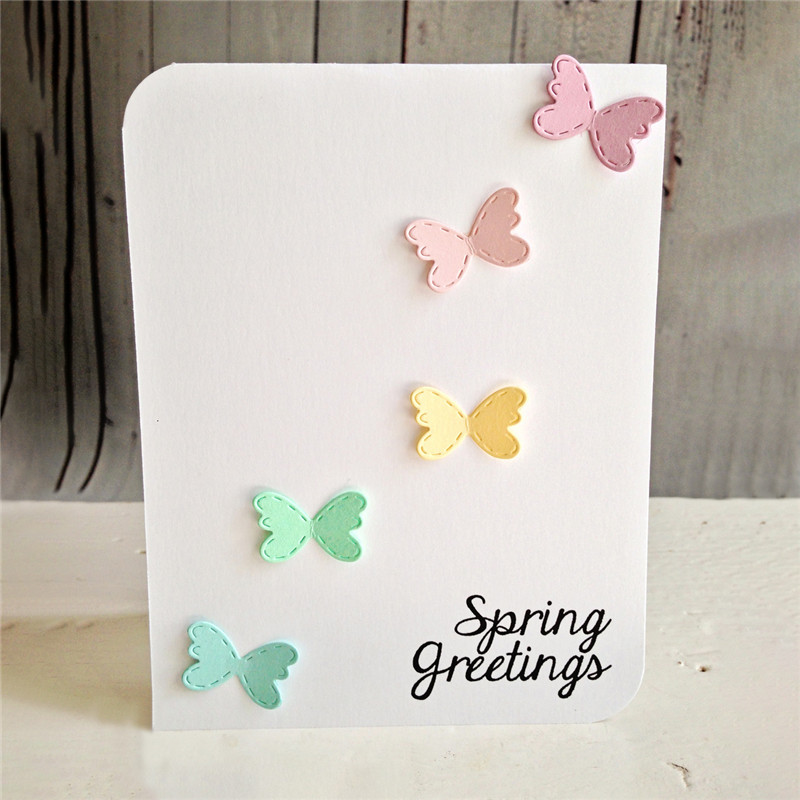 Eastshape 4Pcs/Lot Butterfly Metal Cutting Dies Scrapbooking Animals For Album Decoration Embossing Stencil New Arrival 2019