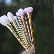 New 7pcs Makeup Cosmetic Brushes Set Powder Foundation Eyeshadow Lip Brush Tool AU US UK RUS CN Wholesale