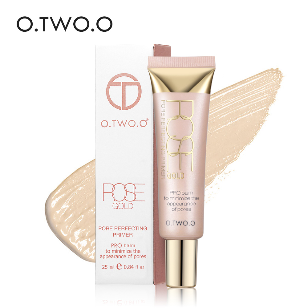 O.TWO.O Makeup Base Foundation Matte Face Primer Makeup Primer Cream Fuktighetsgivande Oljekontroll Primer Makeup Primer Maquillaje