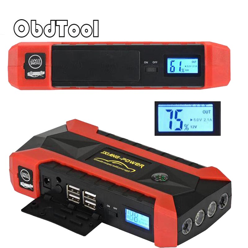 Car Jump Starter Car Booster Portable 89800mAh Mini Car Jump Starter 12V Battery Power Bank Emergency Carregador Baterias Auto portable car jump starter 50800mah petrol car 12v emergency auto battery booster pack vehicle jump starter phone power bank