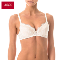 Woman S Beige Bra With A Padded Cups On Frames Lace ARDI R1070 01