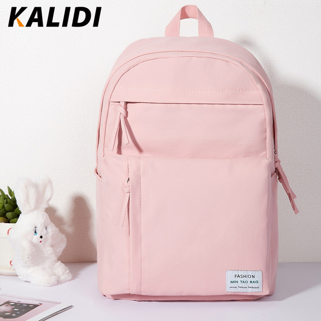 KALIDI Fashion Backpack Women Korean Youth Style SchoolBag for Girl Canvas Laptop Backpack for Teenager Women Shopping Bag 2018