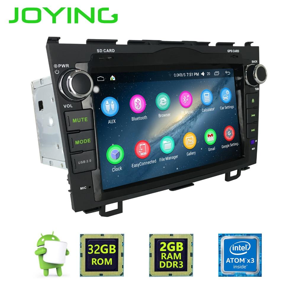 Joying Latest 2GB RAM 2Din Android 6 0 Car Multimedia system for CRV Radio For Honda
