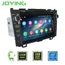 Joying Últimas 2 GB RAM 2Din Android 6.0 sistema Multimedia Del Coche para CRV pantalla táctil de HD GPS Jefe Unidad de Radio Para Honda CR-V para CRV