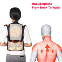 Shoulder Waist Warmer Tourmaline Spontaneous Heating Waistcoat Magnet Therapy Self Heating Vest Back Massage Lumbar Pain Relief