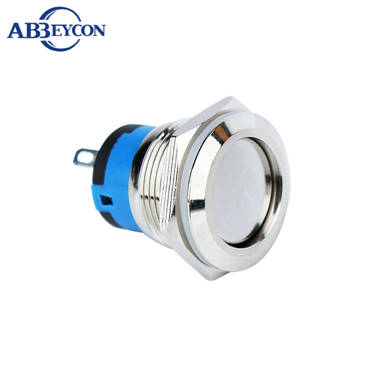 19410Z 19MM short type IP67 1NO ON-OFF function metal latching push button switch ON-OFF push button switch Обои