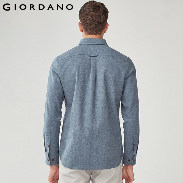 100% Cotton Long Sleeve Casual Men's Shirt 1