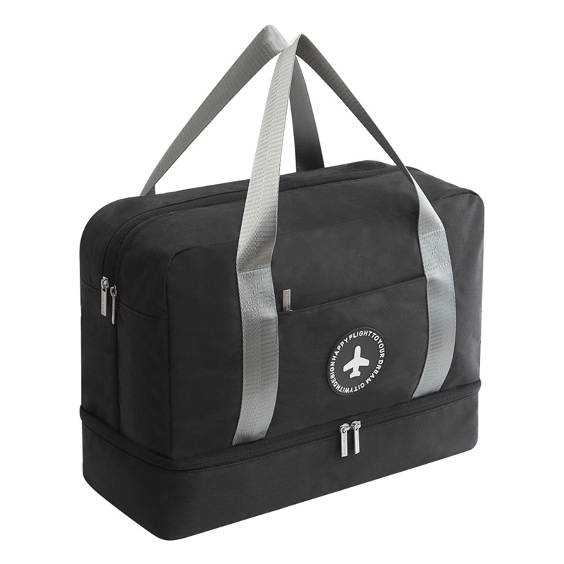 Women Man Dry and Wet Separation Beach Bag Male Outdoor Sport Waterproof Shoe Bag Swimwear Storage