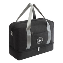 Women Man Dry and Wet Separation Beach Bag Male Outdoor Sport Waterproof Shoe Bag Swimwear Storage Wash Bag Fitness Swimming Bag