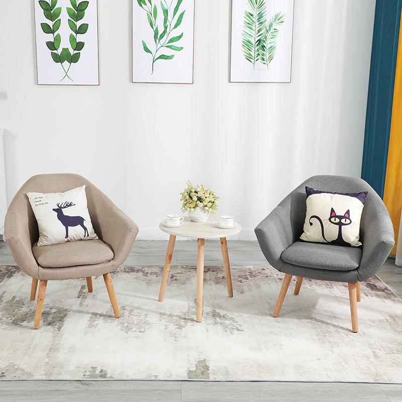 Nordic Lazy Sofa Single Small Apartment