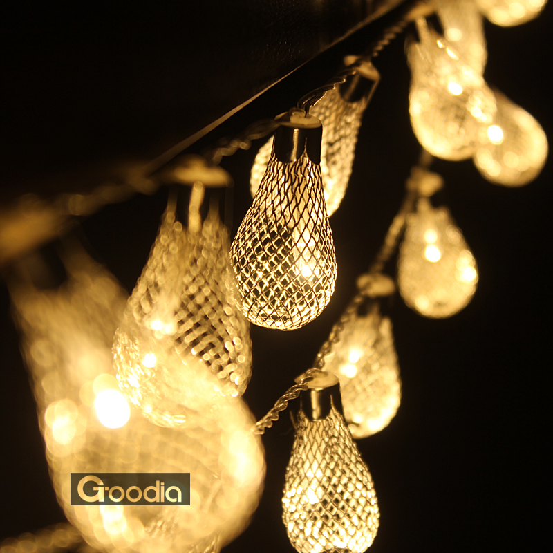 Perfect Holiday String Lights : Aliexpress.com : Buy 10M 100LEDs 220V outdoor warm white LED string lights Metal Christmas ...