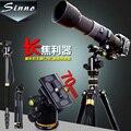 New Sinno F-2425Z SLR camera tripod portable professional digital photographic tripod head suit  Alpenstock 3 in1