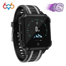 696 H7 4G Bluetooth Smartwatch GPS Location IP68 Waterproof Heart Rate Monitor Sleep Tracker Message Call Reminder Smart Watch