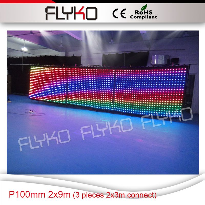 Led Flashlighting Full Hd Xxx Video P100Mm 2X9M Blue Film -8786