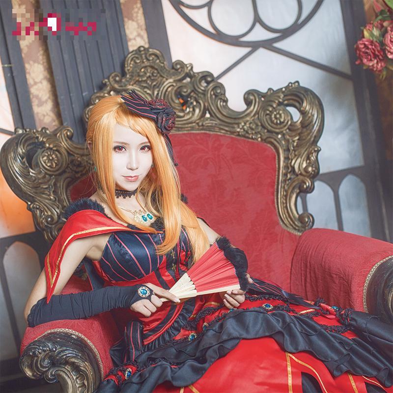 Здесь продается  Re Life In a Different World Priscilla Barielle Cosplay Re:zero Re Zero Kara Hajimeru Isekai Seikatsu Red Dress Costume  Одежда и аксессуары