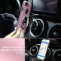 Ring Holder Case For iPhone 7 7 Plus Magnetic Suction Back Phone Cases Hybrid Silicon Plastic Shell Cover For iPhone 7 7 Plus