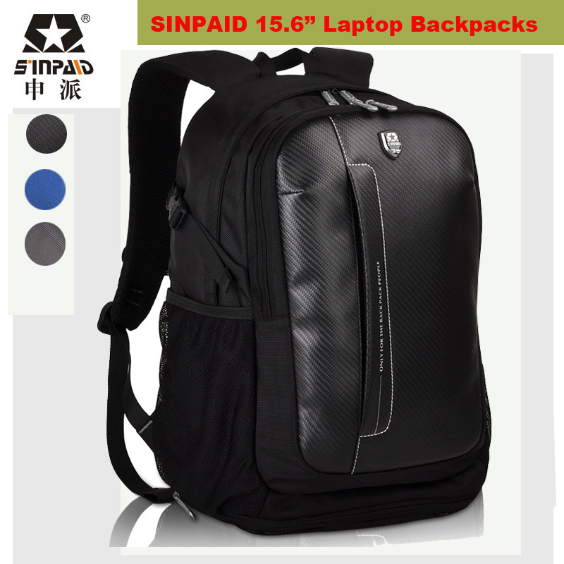 ФОТО 2017 Brand Laptop Bag 15.6 Inch Laptop Backpack Larger Capacity Knapsack Luggage Travel Bags Business swisswin mochila masculina
