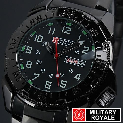 Military Army Business Quartz wrist watch