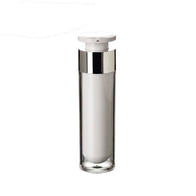 15 мл 30 мл 50 мл пластиковая косметическая бутылка MS безвоздушная бутылка с насосом для крема для лица
