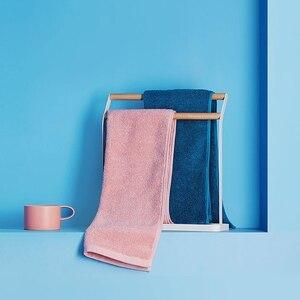 Image 3 - Oryginalny Xiaomi Youpin ręcznik 100% bawełna silne wchłanianie wody Sport produkt do kąpieli miękkie ręczniki trwałe przyjazne dla skóry Facecloth