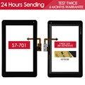 Оригинал Испытания Датчик Сенсорный Планшетный ПК Для Huawei MediaPad 7 Youth s7-701 Сенсорный Экран Стеклянная Панель Частей Клей