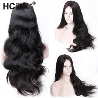 360 Lace Frontal Wigs 150% Remy Human Hair Wigs Peruvian Body Wave Lace Front Wig Pre Plucked With Baby Hair For Women HCDIVA