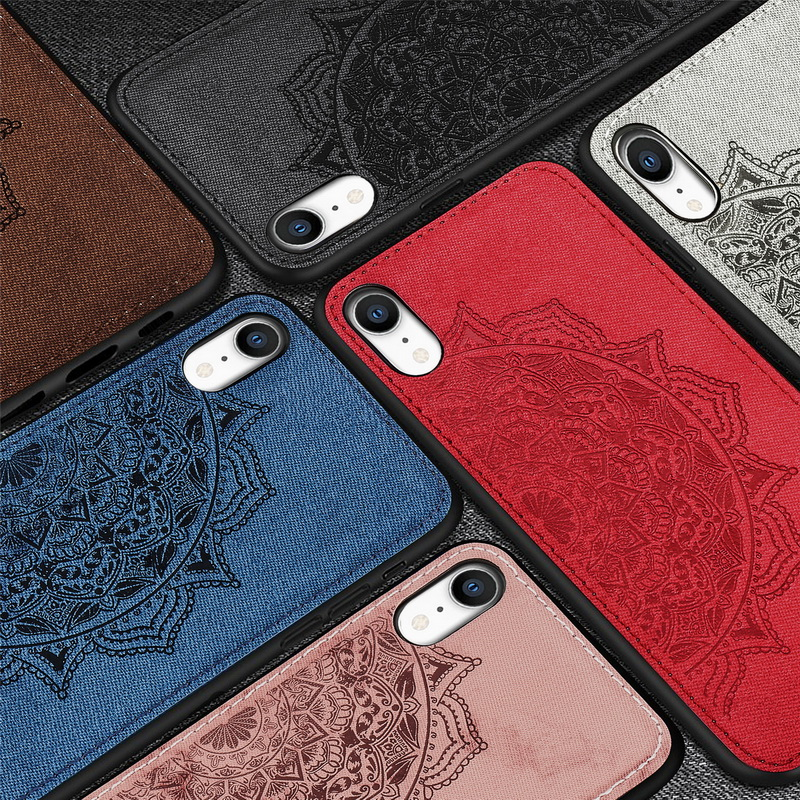 Vintage Leather Case For Iphone X PU Leather TPU Soft Case Magnetic Absorption Back Cover For Iphone 8 7 6 6S Plus XS XR XS Max
