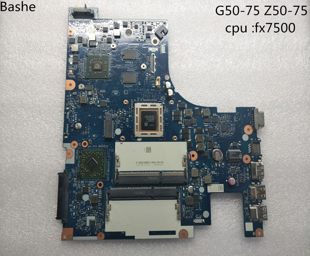 For Lenovo G50 75 Z50 75 PC laptop motherboard nm a291 CPU FX 7500 base plate