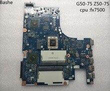Для lenovo G50-75 Z50-75 PC материнская плата для ноутбука nm-a291 Процессор FX-7500 опорной плиты доказательства в комплекте Бесплатная доставка