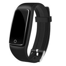 S1 Bluetooth Браслет Спорт Смарт Полосы IP67 Водонепроницаемый Фитнес-Трекер Сенсорная Панель OLED Монитор Сердечного ритма Для IOS Android