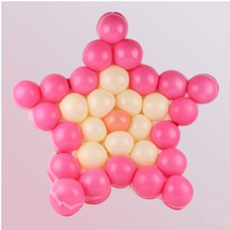 Decorative birthday balloon modeling 60cm balloon can be placed 31 star grid wholesale accessories