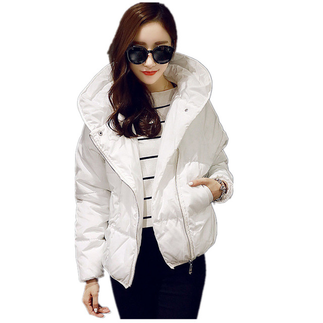 Winter Jacket Women 2016 New Women coat Casual Outwear Hooded Cotton-Padded Jacket Short paragraph jaqueta feminina