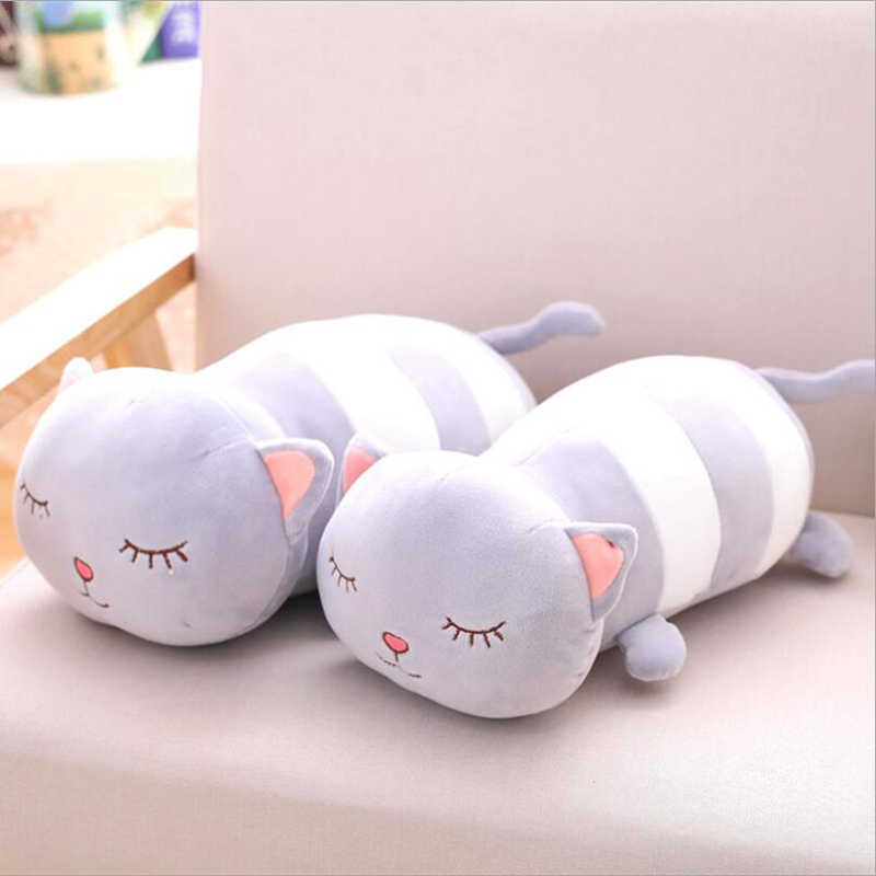 New Style Lovely Fat Cats Soft Plush Toy Stuffed Animal Doll Pillow Children Birthday Gift