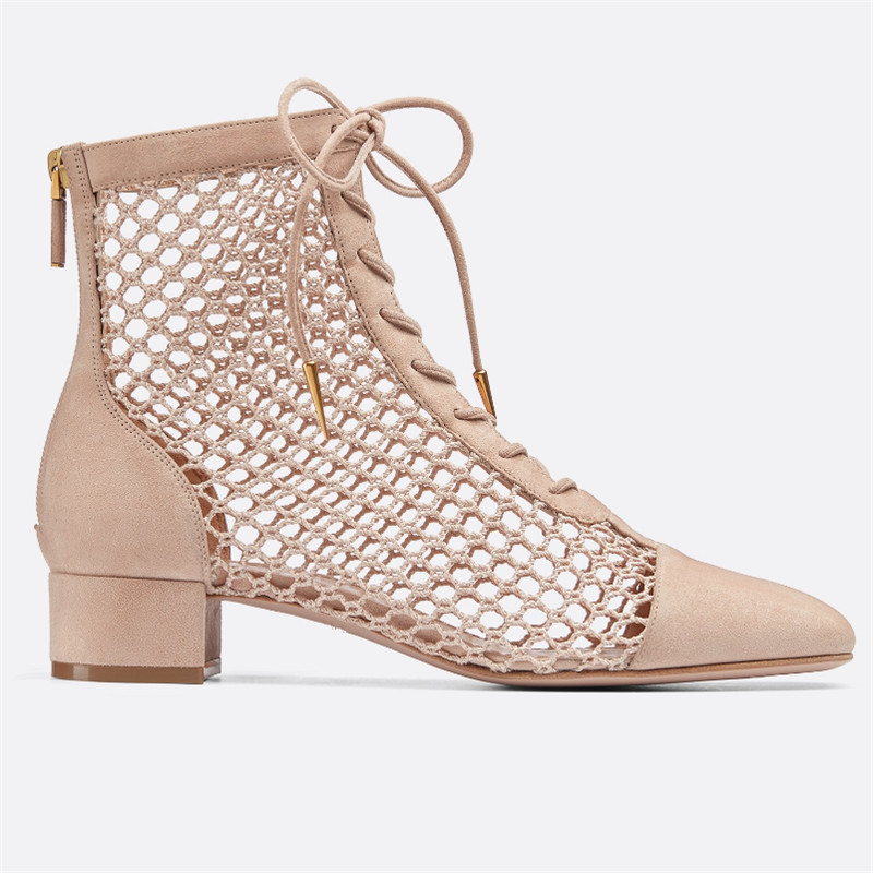 ARQA 2019 Sexy Party Chunky Mesh Short Boots Woman Square Toe Hollow Cross Strap Ankle Boots Women Runway Gladiator SandalsARQA 2019 Sexy Party Chunky Mesh Short Boots Woman Square Toe Hollow Cross Strap Ankle Boots Women Runway Gladiator Sandals