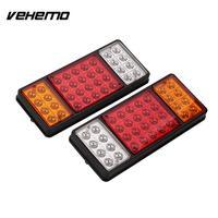 2pcs Waterproof Truck Trailer Tail Lights Indicator Parking Lamps DC 12V