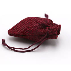 200 шт. 7x9 красочный красивый ручной работы Рождественский узор вечерние свадебные джутовые подарочные мешочки могут быть настроены