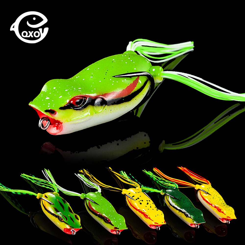 QXO 11g Frog Silicone Bait Fishing Soft Lure Spinner Squid Thunder Frog Jig Spoon Trolls Soft Bait Sea Ice Fishing